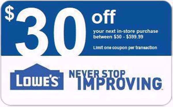 Picture of $30 Off $50 Or $100 Off $600