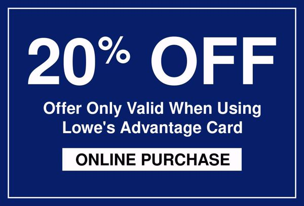 20% Off Lowes Coupon