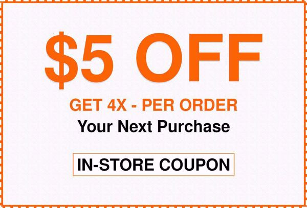$5 Off $50 Home Depot Coupons Instore only | $5 Off Home Depot Promo Codes | WeAreCoupons.com